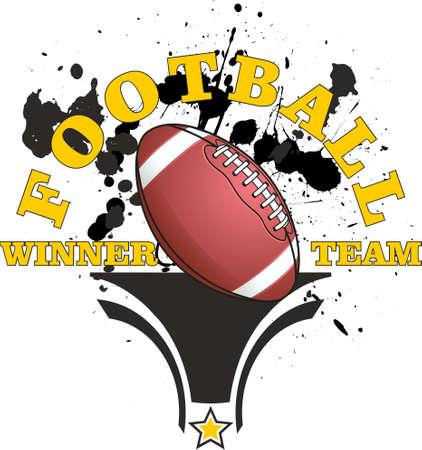 American football, a winning team