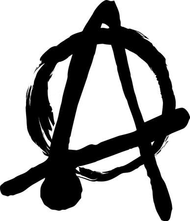 anarchism: Vector symbol of the anarchist movement.