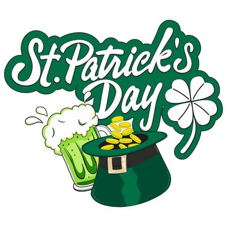 St. Patrick day symbols Irish celebration