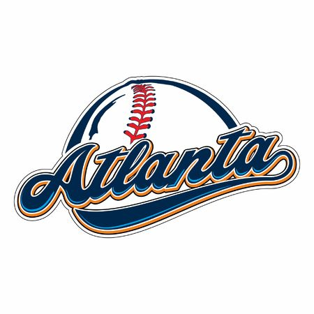 ATLANTA BASEBALL Illustration