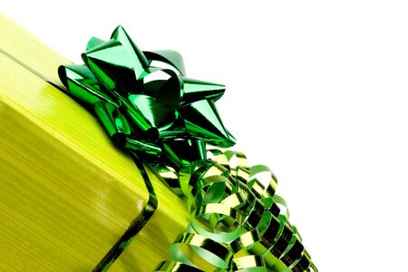 beautiful, colorful present boxes with ribbons and nice decoration photo