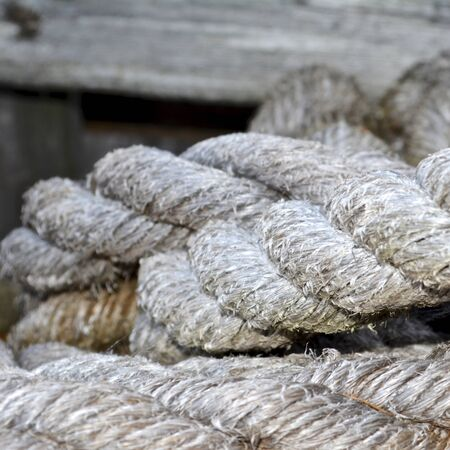 Pile of discarded rope