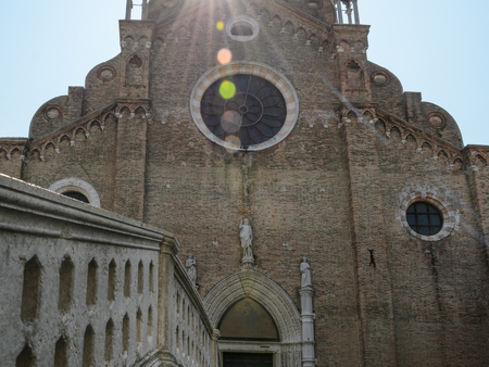 Basilique Santa Maria Gloriosa dei Frari, église à Venise, Italie