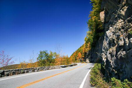 Foliage season in Catskill mountains, NY