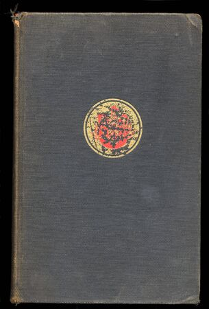 Vintage book hardcover - wear and tear - signs of age