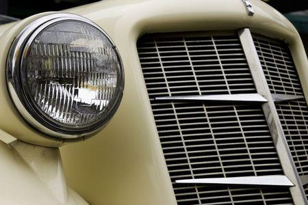 Details of antique car Stock Photo
