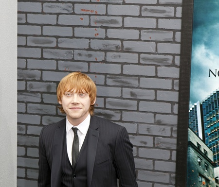 newsworthy: NEW YORK - NOVEMBER 15: Newsworthy: Actor Rupert Grint attends the premiere of Harry Potter and the Deathly Hallows - Part 1 at Alice Tully Hall on November 15, 2010 in New York City.