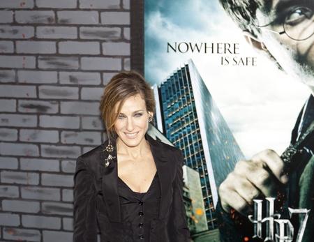 NEW YORK - 15. NOVEMBER: Sarah Jessica Parker beachtet die Premiere von Harry Potter und die Heiligtümer des Todes - Teil 1 in der Alice Tully Hall am November 15, 2009 in New York City.