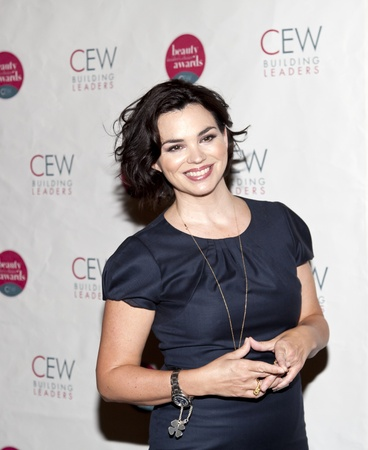 NEW YORK, NY - MAY 20: Actress Karen Duffy attends the 2011 Cosmetic Executive Women Beauty Awards at The Waldorf-Astoria Hotel on May 20, 2011 in New York City.