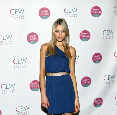 NEW YORK, NY - MAY 20:Actress Katrina Bowden attends the 2011 Cosmetic Executive Women Beauty Awards at The Waldorf-Astoria Hotel on May 20, 2011 in New York City.