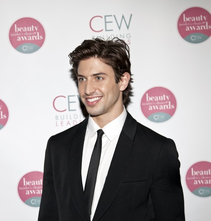 nEW YORK, NY - MAY 20: Actor Nick Adams attends the 2011 Cosmetic Executive Women Beauty Awards at The Waldorf-Astoria Hotel on May 20, 2011 in New York City.