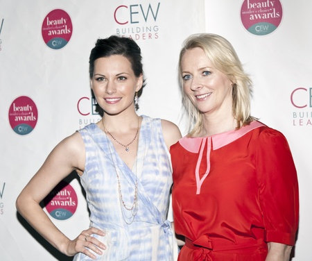 NEW YORK, NY - MAY 20: (L-R)Actress Jill Flint and Editor In Chief of Allure Magazine Linda Wells attend the 2011 Cosmetic Executive Women Beauty Awards at The Waldorf-Astoria Hotel on May 20, 2011 in New York City.