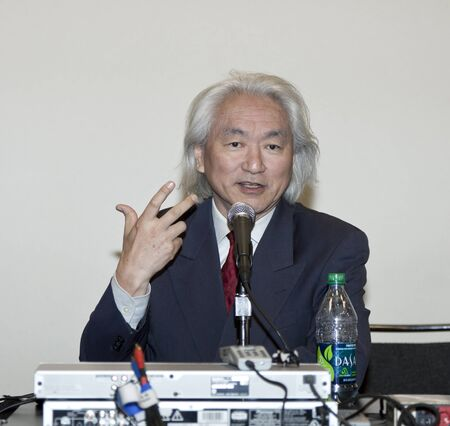 NEW YORK, NY - OCTOBER 15: Dr. Michio Kaku attends 2011 New York Comic Con at the Jacob Javits Center on October 15, 2011 in New York City. Editorial