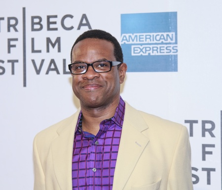 NEW YORK, NY - APRIL 17: Thomas Allen Harris attends the Mistaken for Strangers premiere during the opening night of the 2013 Tribeca Film Festival at BMCC Tribeca PAC on April 17, 2013 in NYC
