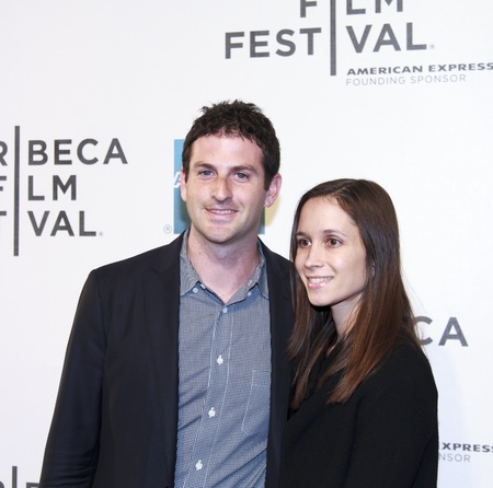 NEW YORK, NY - APRIL 17: Jared Cohen and Rebecca Zubaty attend 'Mistaken For Strangers' Opening Night Premiere during the 2013 Tribeca Film Festival - on April 17, 2013 in NYC Stock Photo - 19169648