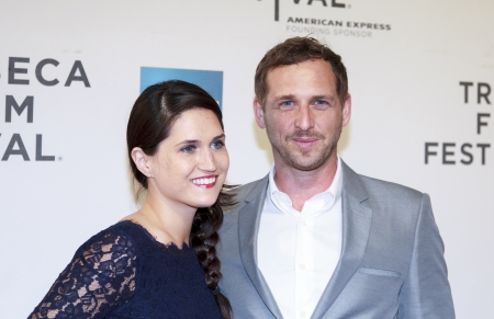 NEW YORK, NY - APRIL 17: Actor Josh Lucas (R) and Jessica Lucas attend Mistaken For Strangers Opening Night Premiere during the 2013 Tribeca Film Festival - on April 17, 2013 in NYC