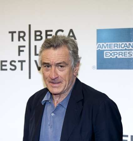 NEW YORK, NY - APRIL 17: Actor Robert De Niro  attends the 'Mistaken for Strangers premiere during the opening night of the 2013 Tribeca Film Festival at BMCC Tribeca PAC on April 17, 2013 in NYC 報道画像