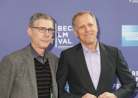jeffrey: NEW YORK, NY - APRIL 24: Director Rob Epstein (R) and Jeffrey Friedman attend Tribeca Talks: After The Movie: Battle Of amFAR during the 2013 Tribeca Film Festival on April 24, 2013 in New York City.