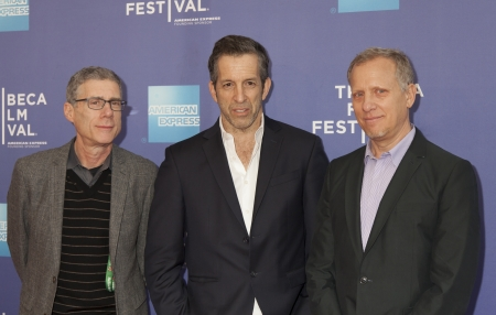 NEW YORK, NY - APRIL 24: Director Rob Epstein, Kenneth Cole and Jeffrey Friedman attend Tribeca Talks: After The Movie: Battle Of amFAR during the 2013 Tribeca Film Festival on April 24, 2013 in New York City. Stock Photo - 19276813