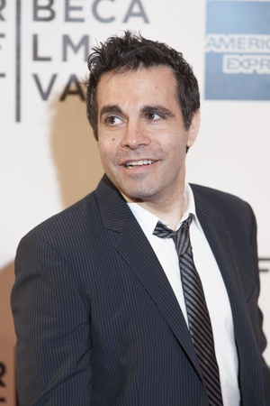 New York, USA - April 27, 2013: Actor Mario Cantone attends the closing night screening of