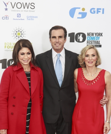 NEW YORK, NY - NOVEMBER 06  Caroline Hirsch, Bob Woodruff and Lee Woodruff  L-R  attend the 7th annual