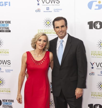 NEW YORK, NY - NOVEMBER 06  Journalist Bob Woodruff and Lee Woodruff attend the 7th annual