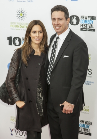 NEW YORK, NY - NOVEMBER 06  Cristina Greeven Cuomo and Chris Cuomo  L-R  attend the 7th annual