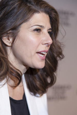 loitering: New York, NY, USA - April 18, 2014  Actress Marisa Tomei attends the 2014 Tribeca Film Festival Word Premiere Narrative