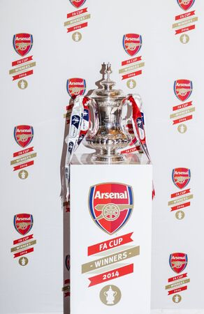 New York, NY, USA - July 25, 2014  A view of atmosphere at the PUMA partners with Arsenal Football Club to Debut Monumental Cannon in Grand Central Station on July 25, 2014 in New York City  Editorial