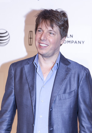 New York, NY, USA - April 24, 2014 Violinist Joshua Bell attends the premiere of