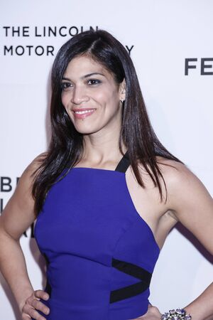 gomez: New York, NY, USA - April 17, 2015: Actress Laura Gomez attends the premiere of The Wannabe during the 2015 Tribeca Film Festival at BMCC Tribeca PAC, Manhattan