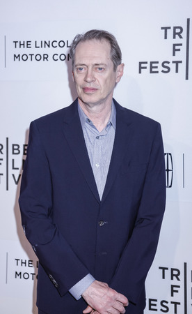 steve: New York, NY, USA - April 17, 2015: Actor Steve Buscemi attends the premiere of The Wannabe during the 2015 Tribeca Film Festival at BMCC Tribeca PAC, Manhattan