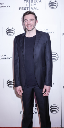 fames: New York, NY, USA - April 17, 2015: Director Jay Bulger attends the premiere of The Wannabe during the 2015 Tribeca Film Festival at BMCC Tribeca PAC, Manhattan