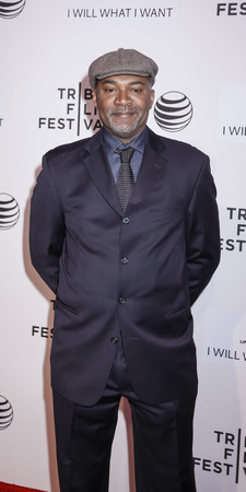 filmmaker: New York, NY, USA - April 19, 2015: Filmmaker Nelson George attends the premiere of A Ballerinas Tale during the 2015 Tribeca Film Festival at BMCC Tribeca PAC, Manhattan