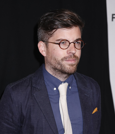narrative: New York, NY, USA - April 22, 2015: Director Henry Hobson attends the World premiere Narrative of Maggie during the 2015 Tribeca Film Festival at BMCC Tribeca PAC, Manhattan Editorial