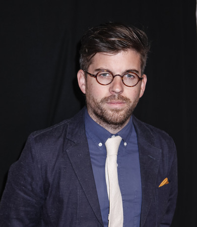 fames: New York, NY, USA - April 22, 2015: Director Henry Hobson attends the World premiere Narrative of Maggie during the 2015 Tribeca Film Festival at BMCC Tribeca PAC, Manhattan Editorial