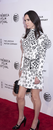 narrative: New York, NY, USA - April 23, 2015: Actress  Jennifer Connelly attends 2015 New York Tribeca Film Festival  Premiere Narrative Aloft at BMCC Tribeca PAC, Manhattan