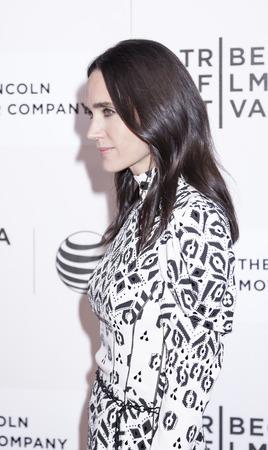 jennifer: New York, NY, USA - April 23, 2015: Actress  Jennifer Connelly attends 2015 New York Tribeca Film Festival  Premiere Narrative Aloft at BMCC Tribeca PAC, Manhattan