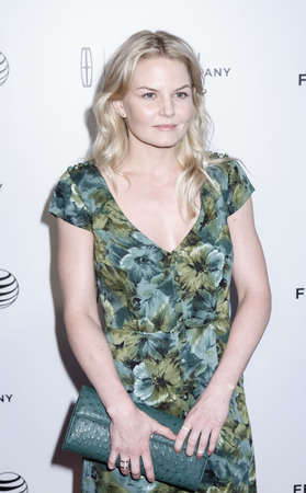 narrative: New York, NY, USA - April 21, 2015: Jennifer Morrison attends Special Screening Narrative On The Town during the 2015 Tribeca Film Festival at Spring Studios, Manhattan Editorial