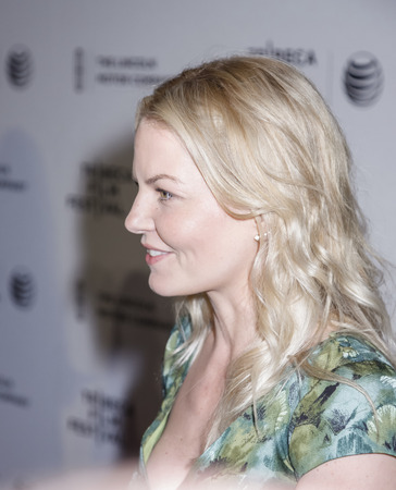 morrison: New York, NY, USA - April 21, 2015: Jennifer Morrison attends Special Screening Narrative On The Town during the 2015 Tribeca Film Festival at Spring Studios, Manhattan Editorial