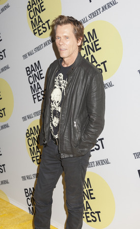 bam: Brooklyn, NY, USA - June 21, 2015: Actor Kevin Bacon attends BAMcinemaFest 2015 Cop Car premiere at BAM Peter Jay Sharp Building, BAM Rose Cinema