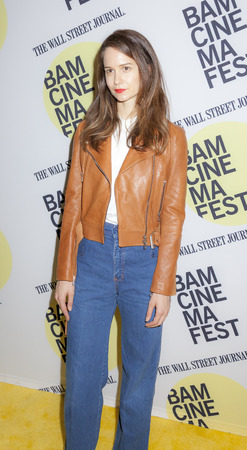 bam: Brooklyn, NY, USA - June 22, 2015: Actress Katherine Waterston attends BAMcinemaFest 2015 'Queen of Earth' premiere at BAM Peter Jay Sharp Building, BAM Rose Cinema Editorial