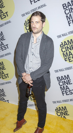 bam: Brooklyn, NY, USA - June 22, 2015: Kentucker Audley attends BAMcinemaFest 2015 'Queen of Earth' premiere at BAM Peter Jay Sharp Building, BAM Rose Cinema