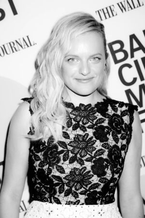 elisabeth: Brooklyn, NY, USA - June 22, 2015: Actress Elisabeth Moss attends BAMcinemaFest 2015 'Queen of Earth' premiere at BAM Peter Jay Sharp Building, BAM Rose Cinema Editorial