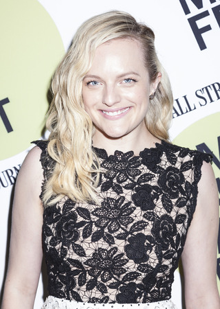 elisabeth: Brooklyn, NY, USA - June 22, 2015: Actress Elisabeth Moss attends BAMcinemaFest 2015 'Queen of Earth' premiere at BAM Peter Jay Sharp Building, BAM Rose Cinema