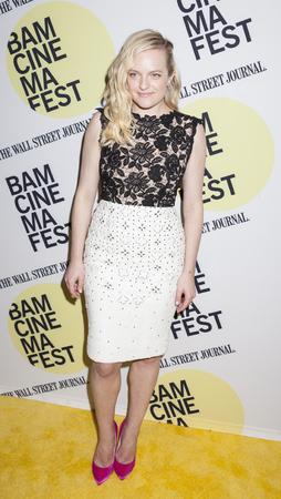 elisabeth: Brooklyn, NY, USA - June 22, 2015: Actress Elisabeth Moss attends BAMcinemaFest 2015 'Queen of Earth' premiere at BAM Peter Jay Sharp Building, BAM Rose Cinema