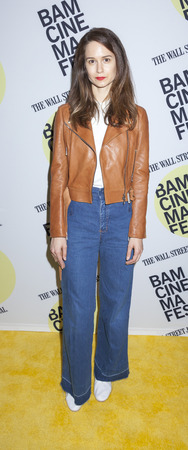 katherine: Brooklyn, NY, USA - June 22, 2015: Actress Katherine Waterston attends BAMcinemaFest 2015 'Queen of Earth' premiere at BAM Peter Jay Sharp Building, BAM Rose Cinema Editorial
