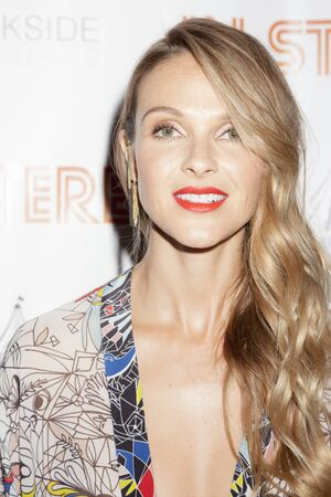 beau: New York, NY, USA - June 24, 2015: American actress and model Beau Garrett attends the New York premiere of In Stereo at Tribeca Grand Hotel, Manhattan