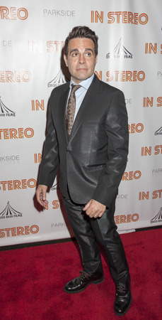 comedian: New York, NY, USA - June 24, 2015: Stand-up comedian and actor Mario Cantone attends the New York premiere of In Stereo at Tribeca Grand Hotel, Manhattan Editorial