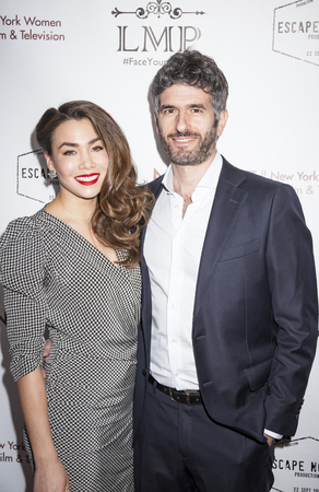 andrew: New York, NY, USA - March 4, 2016: Sharleen Joynt and Andrew Levine attend the Little Miss Perfect New York special screening at DGA Theater, Manhattan.